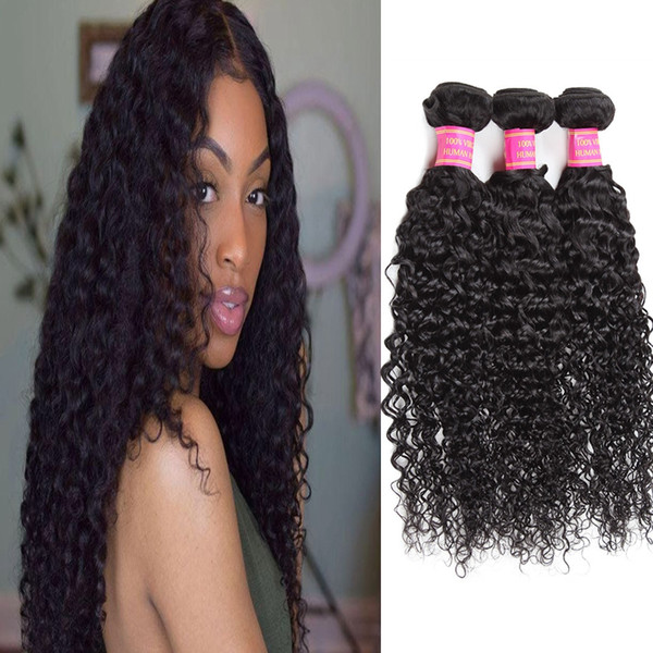 Malaysian Brazilian Body Wave Loose Wave Kinky Curly Human Hair Bundles Wefts Wholesale Peruvian Indian Hair Extensions