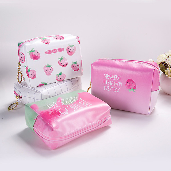 Women Waterproof Makeup bag Travel Beauty Zipper Small Cosmetic Bag Organizer Case Necessaries Make Up Toiletry