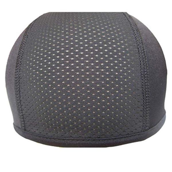 Dropshipping Motorrad-Sturzhelm Innenkappe Coolmax Hut trocknen schnell Breathable Hat Racing Cap Under Helmet Beanie für