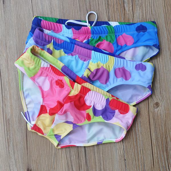 2019 Roupas Dos Homens de Verão Troncos de Natação Briefs Low-Cintura Sexy Pênis Pouch Man'e Swimwear Praia Biquíni Maiôs Quick Dry Masculino