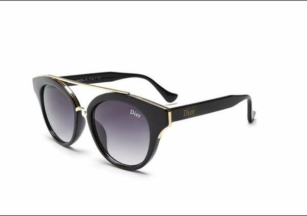 Lunettes de soleil femmes Chic Designer lunettes de soleil Lady Summer Style lunettes de soleil Femme Rivet Shades UV400 2347