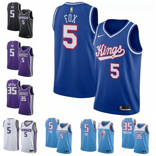 biggest discount new product newest 2019 5 De'Aaron Fox 24 Buddy Hield III SacramentoKings 2019/2020  SwingmanNBA Basketball Jersey StatementEdition From Xiaoxiaofaone, $22.34 |  ...