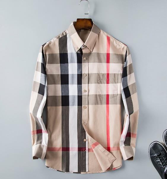 2018 осень-зима коллекция Medusa Business повседневная мужская рубашка с длинным рукавом с лацканами с цветочным принтом в полоску и граффити в стиле Style60