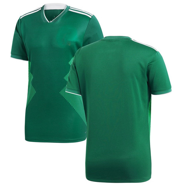 various colors 1b179 93d2c 2019 Men Mexico League National Team Soccer 2018 Home Replica Blank  Football Jersey Green Shirts Size S XL From Urbanfantasy, $13.2 | DHgate.Com