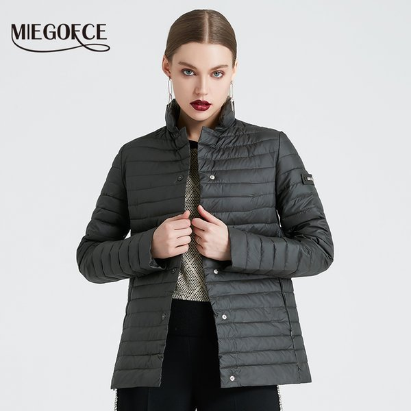 MIEGOFCE 2019 New Spring Collection of Jacket Stylish Windproof Women's Parka Coat Female Spring Jacket Coat Women Quilted Coat SH190928