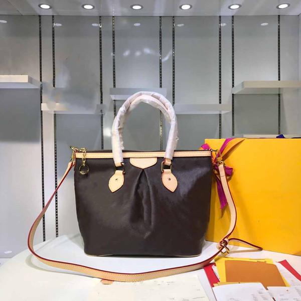 ae583e55a1df Горячая классическая сумочка кожаная сумка маленький m40145 бренд дизайнер  сумочка мода сумки плеча сумка тенденция диких