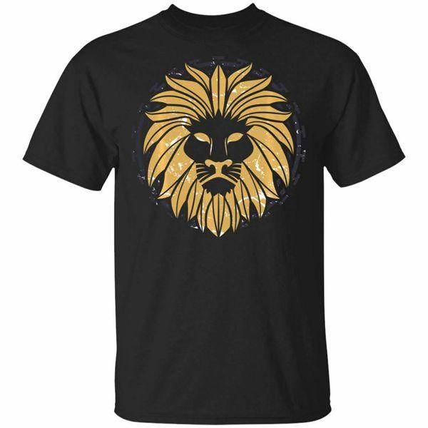 Vintage Leo Symbol Zodiac Sign Birthday Gift Black, Navy T-Shirt S-6Xl Unisex Loose Fit Tee Shirt