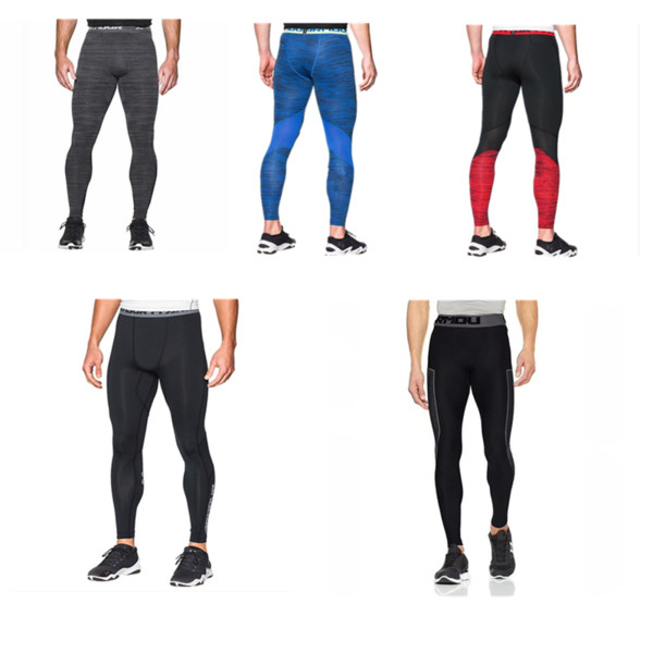 Men's U&A Compression Tight Quick Dry Leggings Under Base Layer Amor Stretch Pants Slim Skinny Sports Jogging Gym Trousers M-2XL NEW C42401