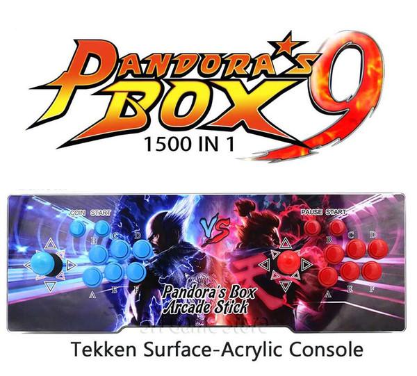 2018 [1500 HD] Arcade Video Oyun Konsolu Retro Oyunlar Artı Hoparlör Makinesi Ile Arcade Makinesi Çift Çarşı Joystick Soğutma yeni gelmesi