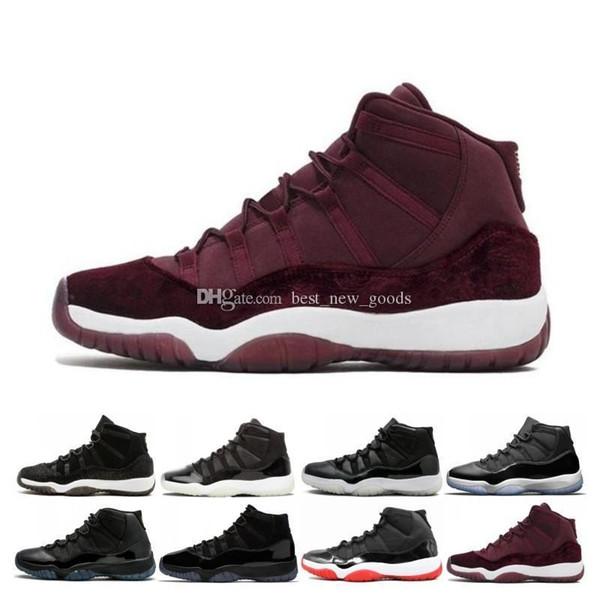 11 Designer 11s berretto concordato e abito Uomo Donna Scarpe da basket 72-10 GAMMA BLUE CONCORD 23 45 Platinum Tint Scarpa sportiva Sneaker