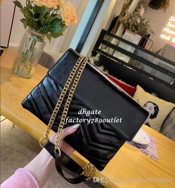 Yeni 2019 Yüksek kaliteli Kadınlar omuz çantaları kadınların G Tasarımcı çanta moda tasarımcısı çanta kadın çanta çanta 6378882