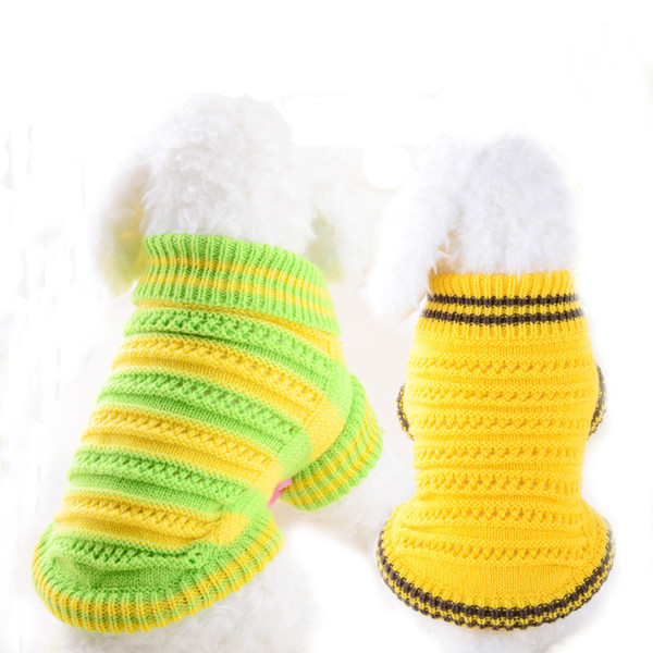 Dog Clothes For Small Dogs Soft Pet Dog Sweater Clothing For Dog Winter Chihuahua Clothes Classic Pet Outfit Ropa Perro