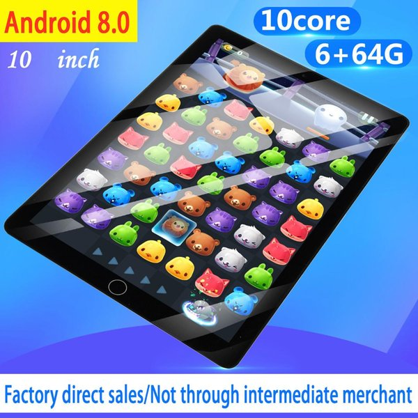 Best Android Tablet 2020.Cheap 2020 10 Inch Tablet Pc Android Tablet 6gb 64gb Dual Sim 4g 10core Android 8 0 Bluetooth Wifi Tablets Laptops Tablets Best Rated Laptops From