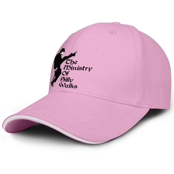 The Ministry of Silly Walks pink woman sandwich hat truck driver cool fit golf hat design yourself fashion baseball team cap fashion pe