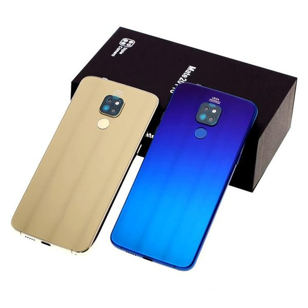 Free DHL Goophone Mate 20 smartphone 6.0 inch 1280*720 show unlocked finger print Quad Core MTK6580 1G RAM 16GB ROM Cell phone