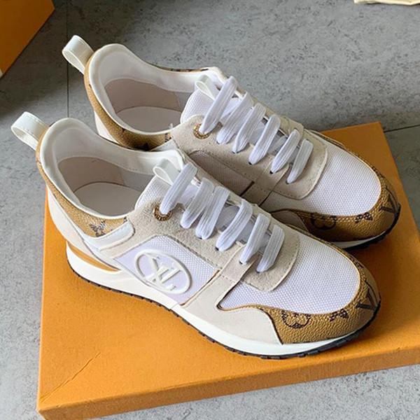 Damenschuhe 2019 Sommer Licht Sportschuhe Läufer Atmungsaktiv Run Away Sneakers Outdoor Sportschuhe mit Original Box