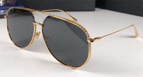 Neue modedesigner sonnenbrille piloten rahmen beliebte verkauf stil uv400 objektiv hochwertigen schutz augen klassischen stil