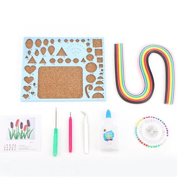 Швейные Инструменты 8 ШТ. Бумага Квиллинг DIY Craft Комплекты Полосок Квиллинг DIY Ремесла Набор Инструментов швейные принадлежности для vip