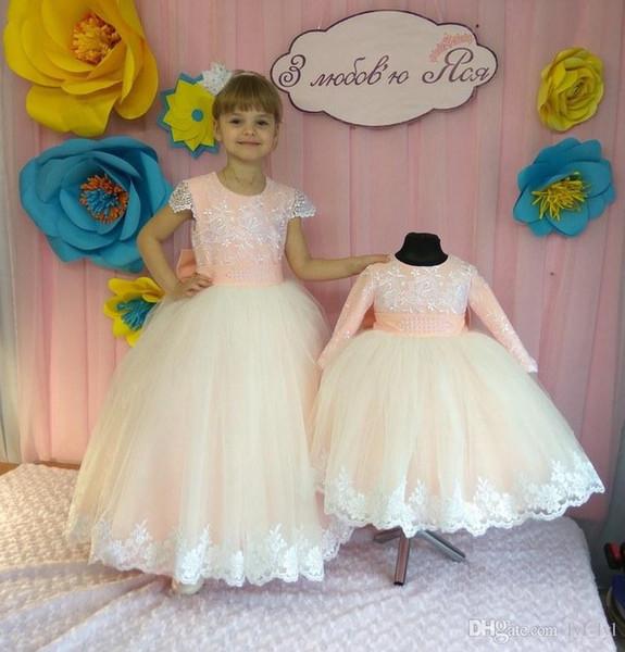 Платья для девочек-цветочниц Детское театрализованное платье для детей