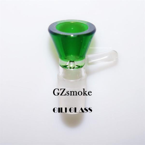 #26-18.8mm green male bowl