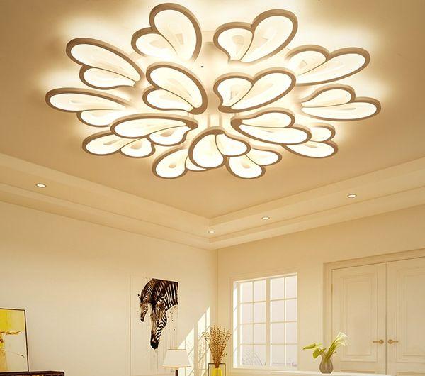 Yakeli Living Room LED Roof Lighting Post Modern Simple Art Restaurant  Lighting Creative Bedroom Butterfly Lighting LLFA Hanging Ceiling Light  Pendant ...