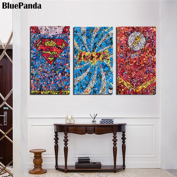 2019 Marvel Movie Oil Canvas Paintings Modern On The Wall Art Pictures  Bedroom Decoration Home Decor From Caronline, $32.99 | DHgate.Com