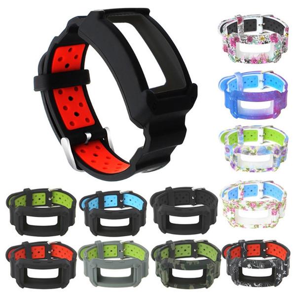 Mode druck silikon armband für samsung gear fit2 pro uhrenarmband armband riemen für samsung gear fit 2 sm-r360 uhr