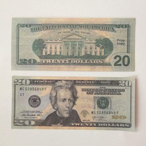 De 20 dólares 100pcs