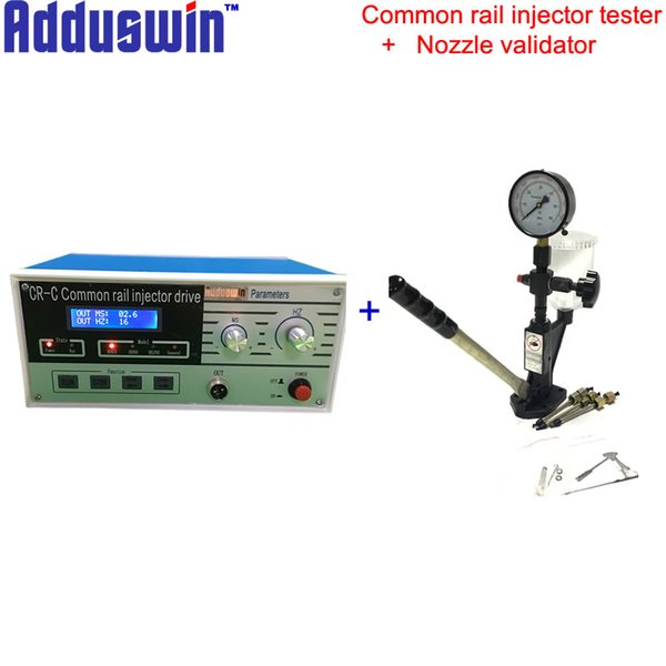 Adduswin free shipping CR-C plus S60H two models diesel common rail injector tester and nozzle validator test kits factory sales