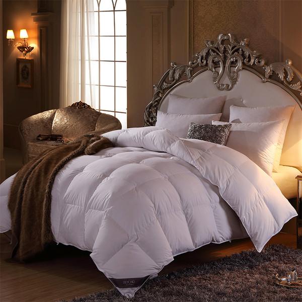 Jenseits von 100% gewaschene Daunendecke Twin Queen King Size Luxus Schlafzimmer Dekor dicker wärmer werfen gesteppte Bettdecken