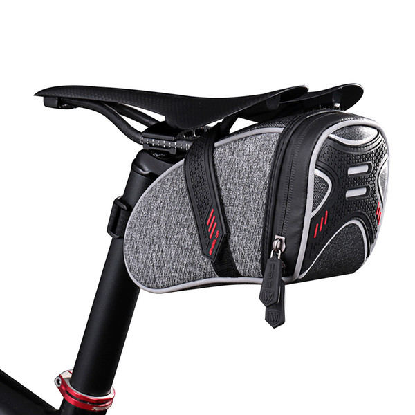 Bicycle Tail Pouch Package Bike Bicycle Cycling Saddle Bag Rainproof Portable Seat Post Bag Road Bike MTB Cycling Saddle Pouch