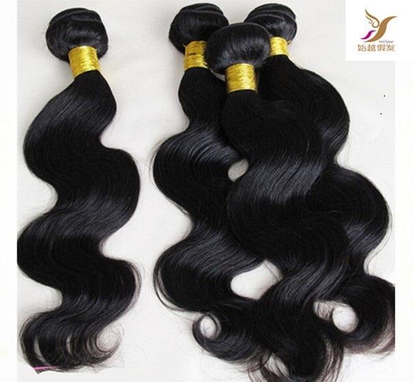 La onda brasileña del pelo de la onda del cuerpo lía las extensiones del pelo de la Virgen 100% de la trama de la trama sin procesar 100% armadura del pelo humano