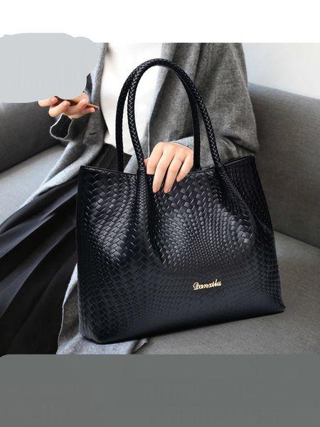 Woman Bag 2018 New Pattern Handbag Fashion Atmosphere Concise Brand Women Package Cowhide Single Shoulder Packages Genuine Leather Handbags