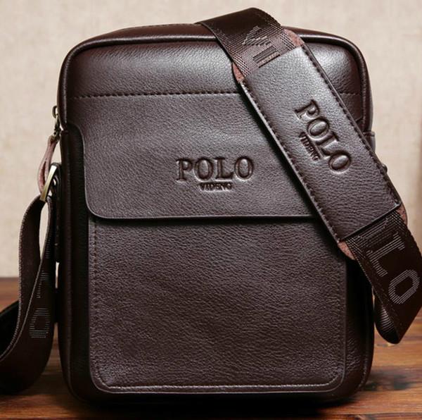 Famous Brand Cartella progettista semplice Mens Designer Laptop Bag Solid Borse Affari Mens Messenger Bag per gli uomini # v4h4