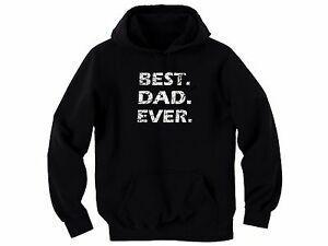 Best dad ever distressed look blaDesign graphic sweatshirt hoodie Great family gift