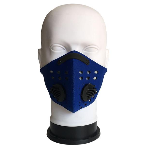 синий (1 Маска+1carbon фильтра)