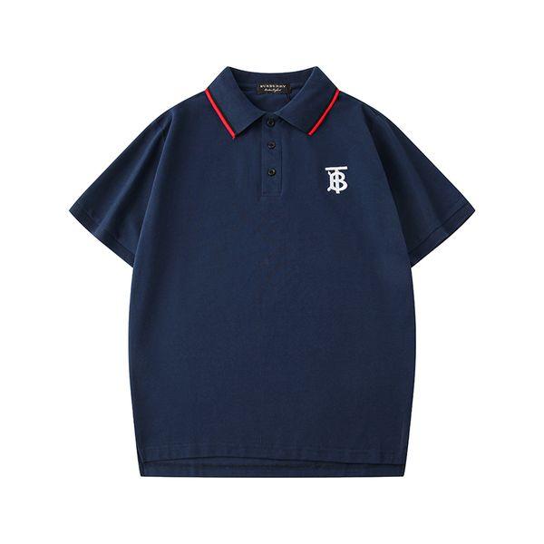 New Hotsale Brand Designer Mens Polo Shirts Luxury Designer T Shirt Street Fashion Women Polo For Men Summer Tees Short Sleeves B105517L