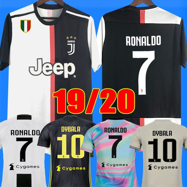 4e1a56725 Thailand RONALDO Juventus 2019 2020 champions league soccer jerseys DYBALA  18 19 20 Sports football kit