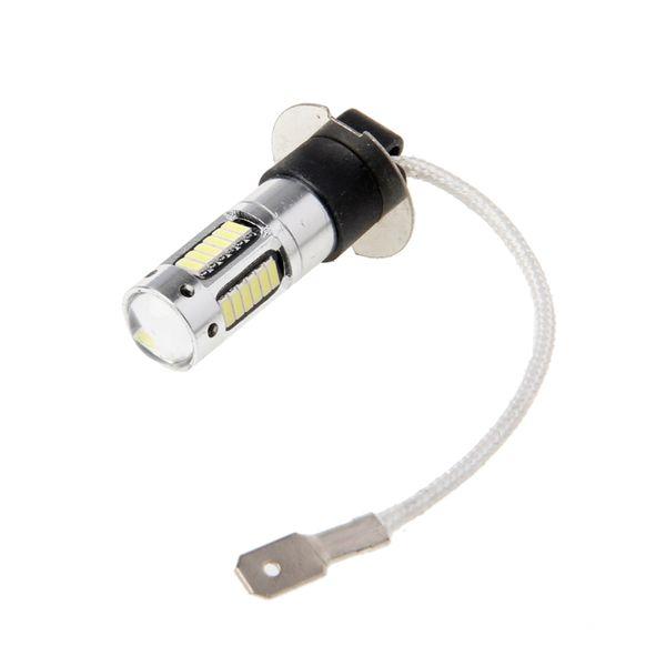 Lâmpada branca 30SMD 6000K do bulbo do jogo da luz de DRL dos faróis do diodo emissor de luz de 2X H3 30W 4014