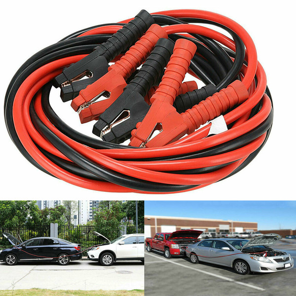 best selling 1200AMP 1 Gauge Booster Cables 20FT Power Start Jumper Heavy Duty Car Van NEW