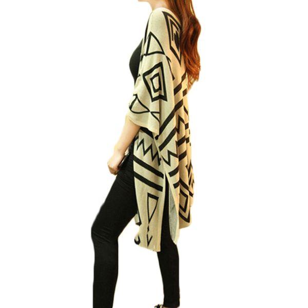 Niedriger Verkaufspreis Waren des täglichen Bedarfs billig zu verkaufen 2019 Kimono Plaj Knit Cardigans Shawl Coat 2019 Spring New Korean Loose  Cover Up Tunic Damen Sommer Long Shawl Irregular Jacket F173 From Robertiu,  ...