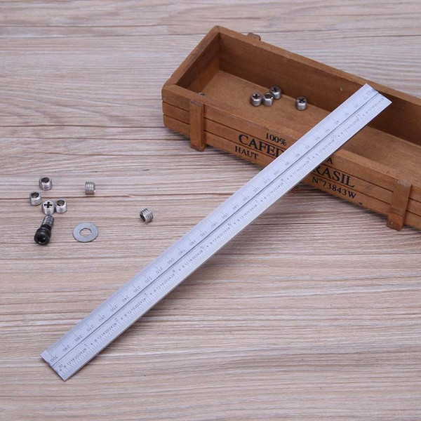 top popular Freeshipping 1 Set Angle Ruler Universal Bevel 180 Degree Angle Combination Square Protractor Ruler Set Measuring Tool 2021