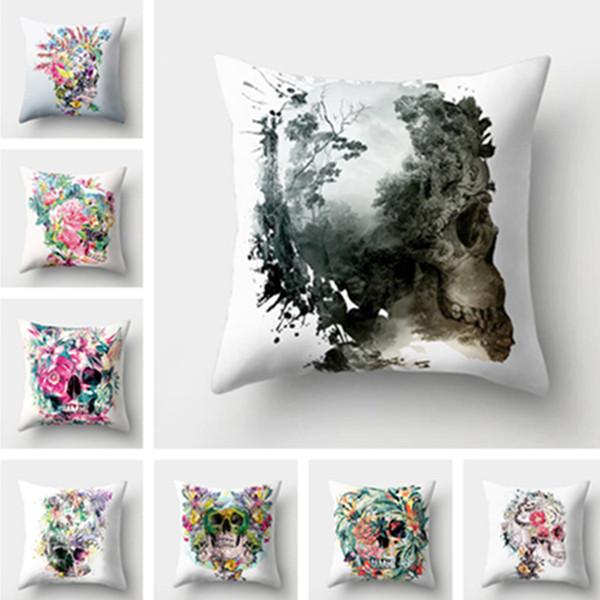 New hot fashion high quality car Cushion Cover soft sofa Hug Pillowcase Bedding Supplies Pillow Case T7I5051