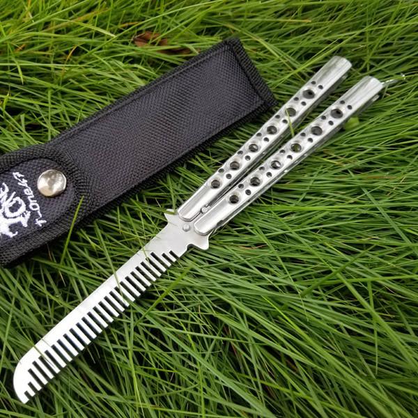 Recemmend All steel bald eagle comb BM40 BM41 BM42 BM43 Bm46 BM47 BM49 440 59-60HRC all steel handle Camping hunting wild gift knife