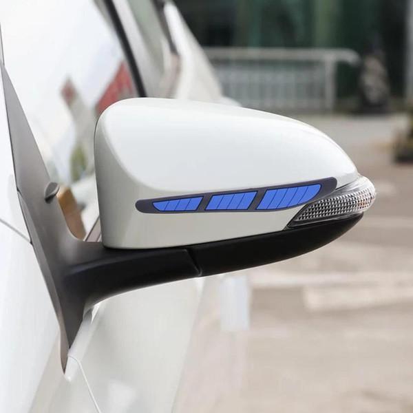 Xterior Teile Styling Leisten VODOOL 4 Teile / satz Autotür Kantenschutzleiste Auto Seite Rückspiegel Türgriff Kratzschutz Anti -...