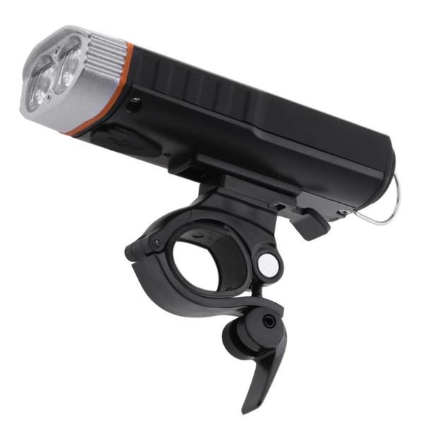 USB Rechargeable Waterproof Bicycle Headlight Bike Front LED Lamp Bike Light/Flashlight/Lamp/Power Bank Bicycle Lights #738719