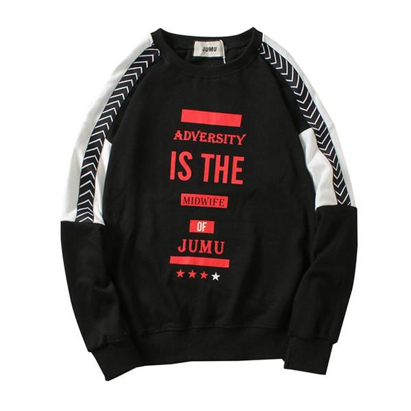 Moda de Alta Hoodies Dos Homens Hoodies Pulôver de Rua Carta Impressão Casual Camisolas Masculino Hip Hop Outono Inverno Tops Blusas Streetwear
