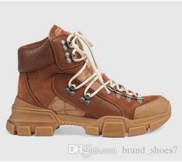 FlashTrek высокого кроссовки унисекс Мужские Повседневный голеностопного пинетки Туризм Военные загрузки Открытый Женская Коренастый обувь Мартин сапоги Sneaker A44