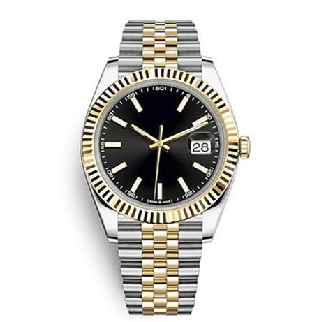 41mm en acier inoxydable solide fermoir Mouvement automatique 2813 mécanique saphir mâle Montre Homme Grande Date Président Desinger Hommes Montres Reloj