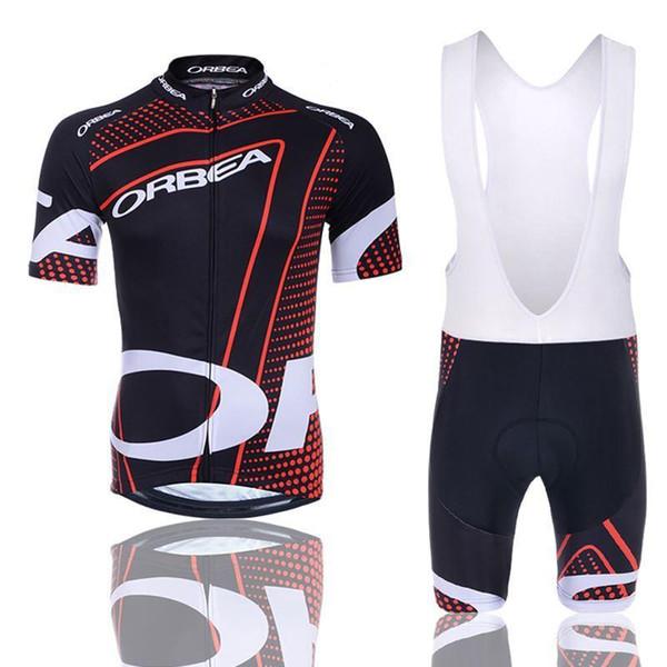 2019 Hot vendita a breve Jersey Orbea Cycling Jersey Ropa de Ciclismo Maillot vestiti di riciclaggio della bici Wear Set Gel Pad traspirante Sport